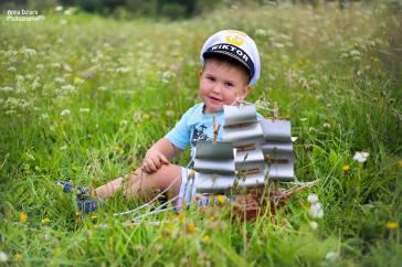 Wiktor i jego marynarskie zabawy :)